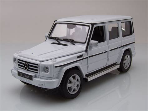 Welly Mercedes A Class mercedes g klasse 2009 wei 223 modellauto 1 24 welly 22 95
