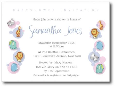 baby shower invitation wording for sles of baby shower invitation wording wedding