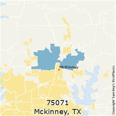 mckinney texas zip code map best places to live in mckinney zip 75071 texas
