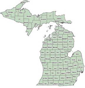 County Map Of Michigan by Michigan County Map Current Asthma Data Asthma