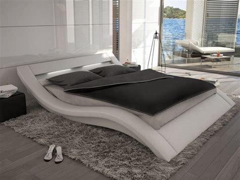 lits adultes avec leds