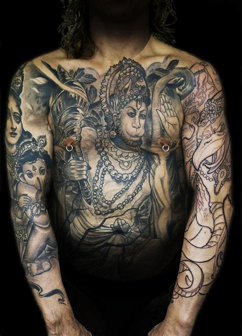 indian god tattoo designs for men the gallery for gt hindu lotus flower designs