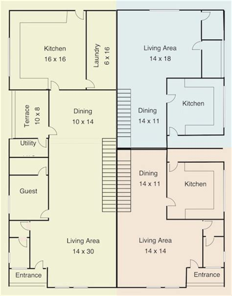 Four Bedroom Floor Plan In Nigeria Building A Luxury Block Of Flats Day To Day Updates With