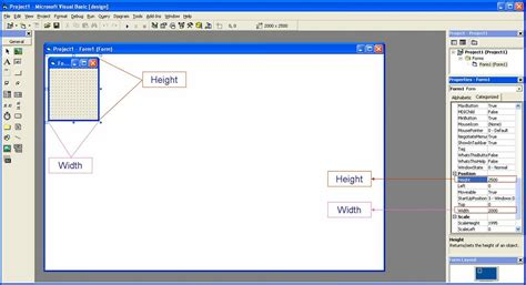 design form on visual basic visual basic 6 0 tutorials code project for beginners