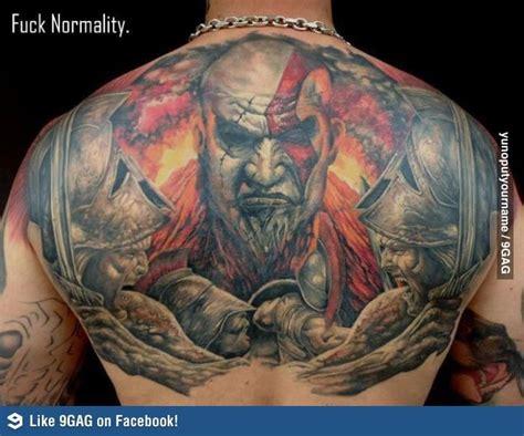 kratos tattoo kratos bad tattoos and