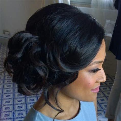 black updo for black tie event best 25 black wedding hairstyles ideas on pinterest