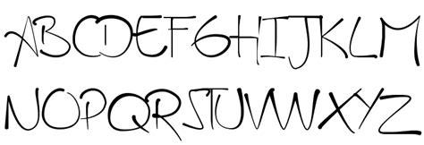Handmade Fonts - a handmade font font