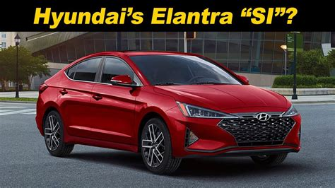 hyundai avante sport 2020 2019 2020 hyundai elantra sport the sporty value