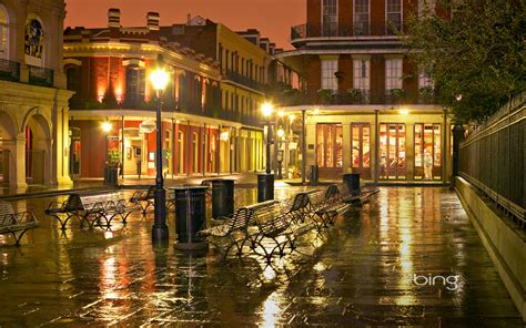 Apartment Courtyard by French Quarter New Orleans Hd Wallpapers