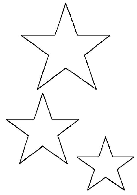 search results for small star templates printable free
