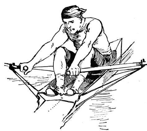 Rowing Clipart