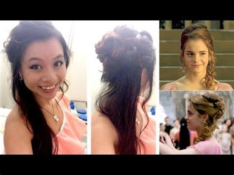 hermione yule ball hairstyle hermione granger yule ball hairstyle i love this hairstyles