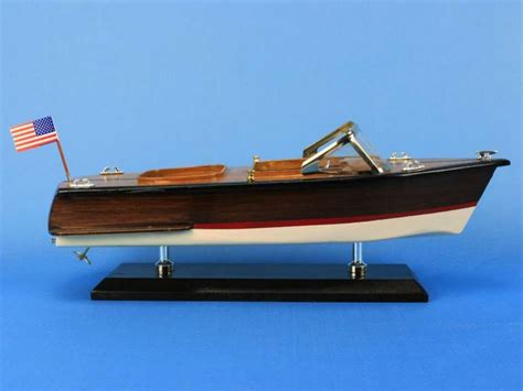 runabout boat top speed wholesale wooden chris craft runabout model speedboat 14in