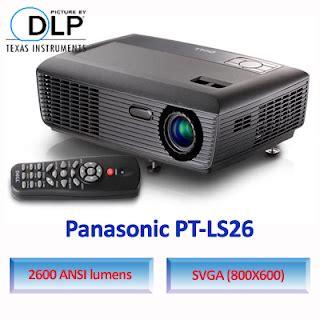 Panasonic Lcd Proyektor Pt Lb383 Garansi Resmi 2 panasonic pt ls26 jual infocus jual proyektor infocus