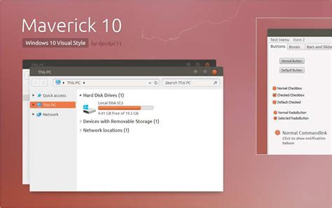 get themes for windows 10 get ubuntu linux theme for windows 10 and windows 7