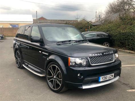 security system 2012 land rover range rover sport parking system 2012 range rover sport 3 0 sdv6 hse luxury autobiography spec black fully loaded in dewsbury