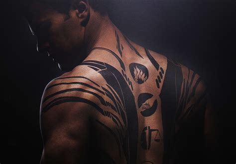 theo james divergent tattoo images