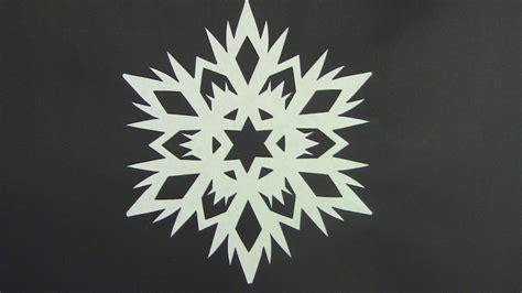 Paper Snowflake - paper snowflake tutorial look here snowflakes in 5