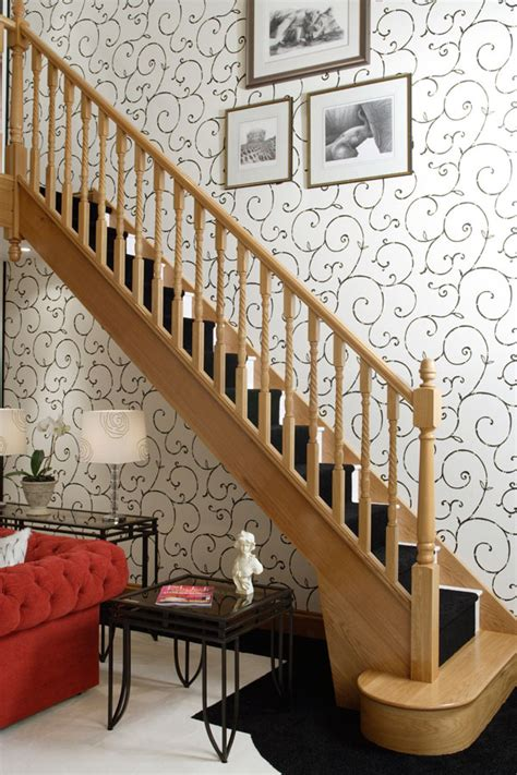 Banister Stairs Ideas Oak Stair Spindles Palace Twist Spindles
