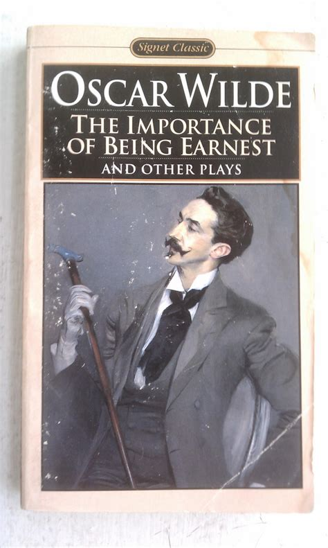 the importance of being book cover the importance of being earnest and other play flickr