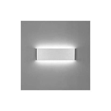 apliques de pared led aplique pared led 8w 18w 24w acero negro