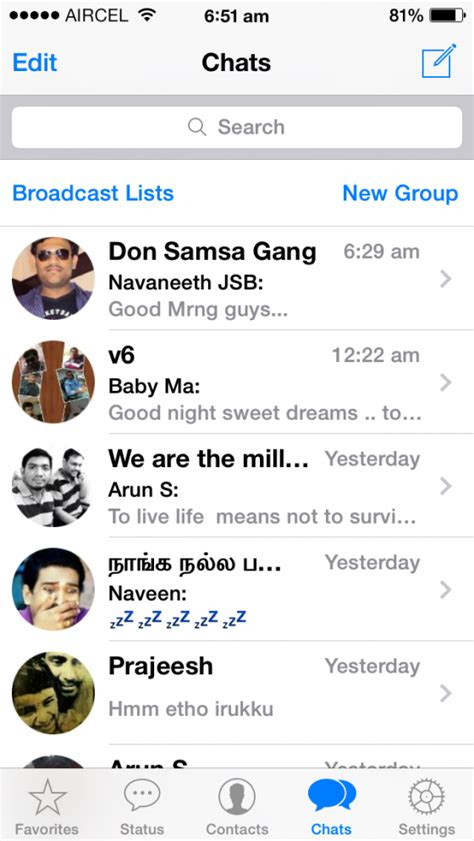 whatsapp themes ios 7 whatsapp messenger ios 7 updated download now