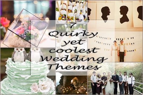 7 yet coolest wedding themes a2zweddingcards