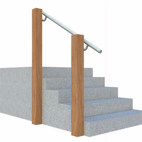 Wall Mounted Banister by Wall 570 Wall Mounted Stair Railing Easy Install