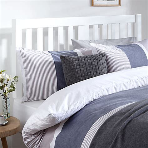 white wooden headboard king size buy john lewis cole wooden headboard king size white