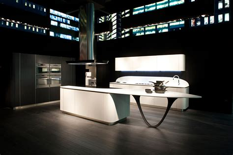 future kitchen design ola futuristic kitchen by snaidero