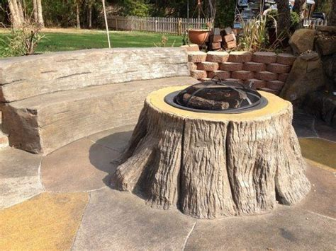 tree stump bench ideas 10 interesting bench tree stumps design for garden home