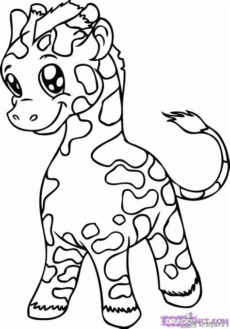 coloring pages of a baby giraffe kleurplaten giraffe kleurplaten kleurplaat nl
