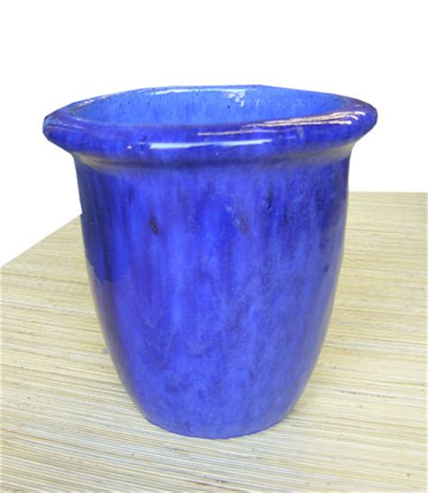 frugal ceramic planter pots seattle ceramic pots blue and
