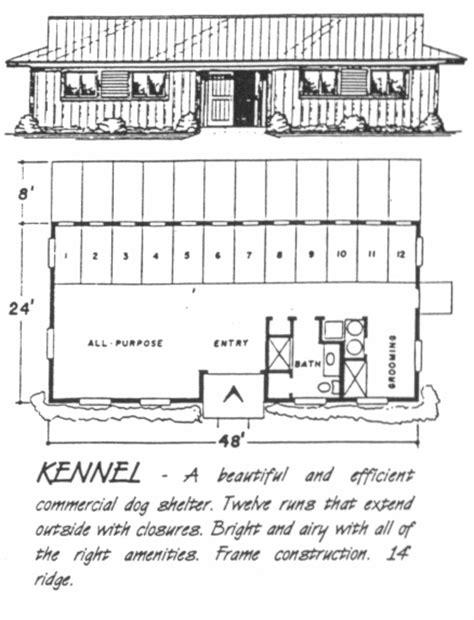 dog kennel floor plans ashland barns kennel