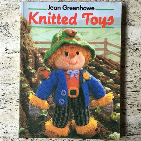 knitted toys jean greenhowe 1980s