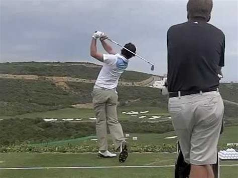 rory mcilroy swing speed rory mcilroy golf swing high speed slow motion down