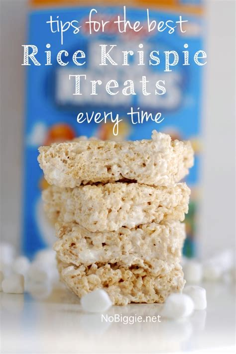 best treats 25 rice krispie treat ideas nobiggie