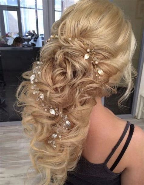 Wedding Hairstyles With Jewels by 45 Most Wedding Hairstyles For Hair Hi