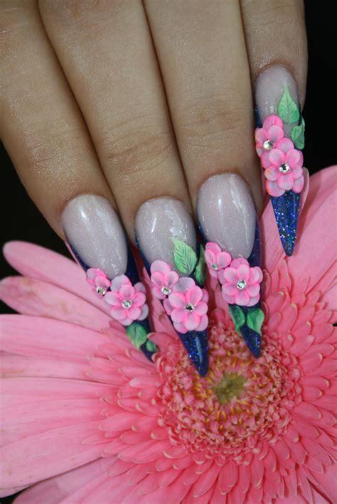 imagenes de uñas decoradas en tercera dimension u 241 as de acrilico tercera dimensi 243 n show nails 174
