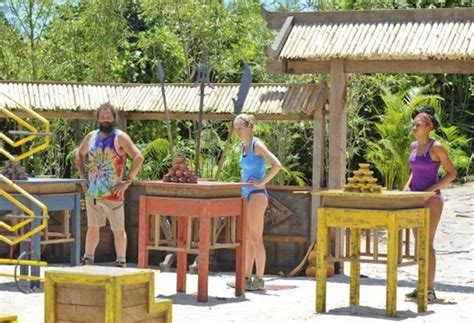 who went home on survivor 2013 season 27 last week