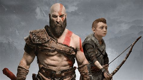 kratos atreus god  war hd wallpapers hd wallpapers