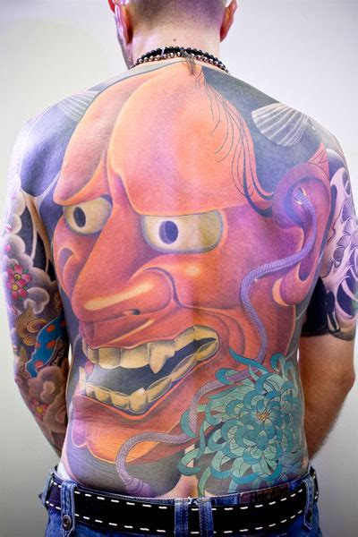 japanese hannya mask tattoo designs tekite the coolest japanese designs for