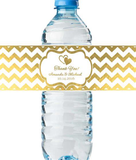 free printable bridal shower water bottle labels bridal shower water bottle labels real metallic print