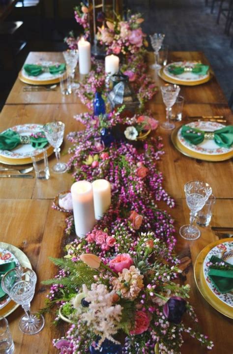 Wedding To Get by 40 Boho Chic Wedding Table Settings To Get Inspired