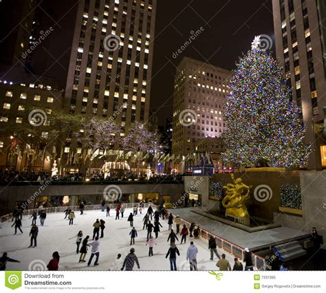 christmas tree in ny editorial image image of beautiful