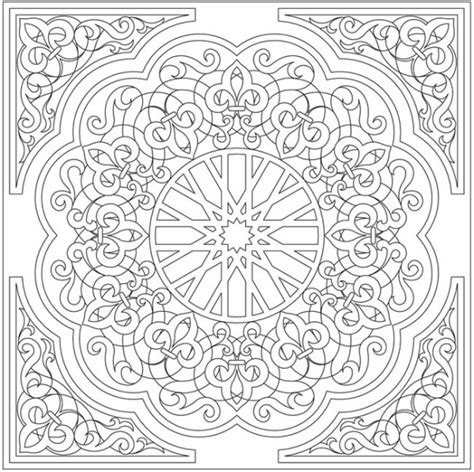 Pattern Arabic Floral | arabic floral patterns coloring book
