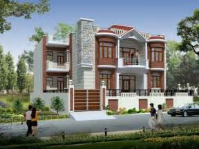 Indian House Design Front View by 3d House Front Elevation Indian House Designs Front View