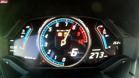 320 Km H Lamborghini Huracan by 0 320 Km H Lamborghini Hurac 225 N Test Sport Auto Youtube