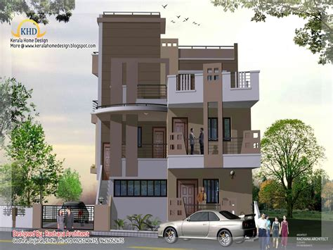 narrow 3 story house plans small three story home plans