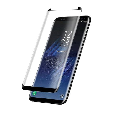 Tempered Glass Warna Samsung S8 Layar bakeey 3d curved edge friendly tempered glass screen protector for samsung galaxy s8